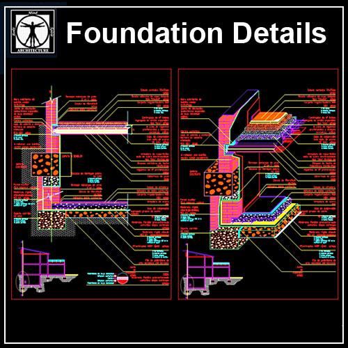 ☆【Foundation Details V2】-Cad Drawings Download|CAD Blocks
