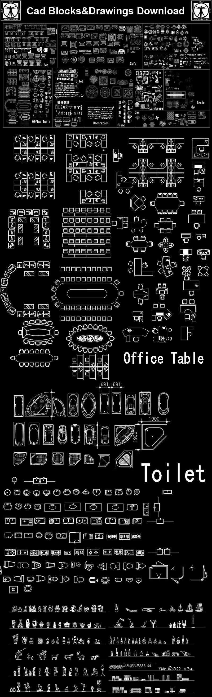 ☆【Cad Blocks Set】-Cad Drawings Download CAD Blocks Urban