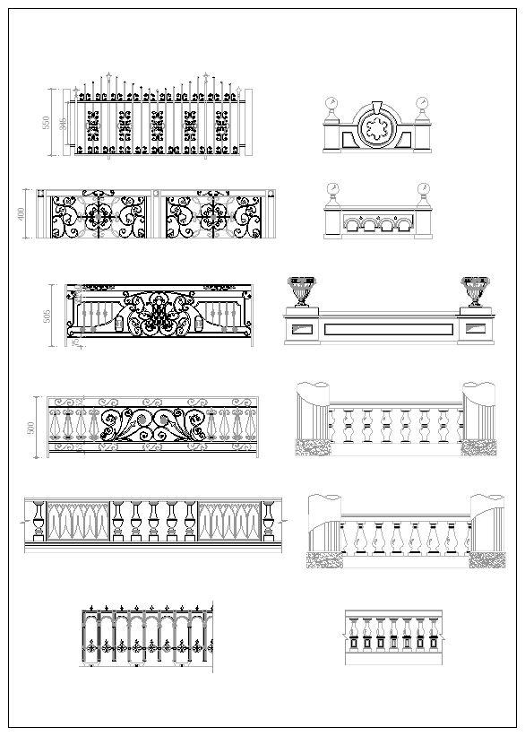 ☆【Ornamental Parts V3】-Cad Drawings Download|CAD Blocks
