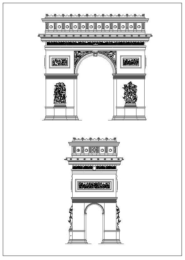 ☆【Ornamental Parts V4】-Cad Drawings Download|CAD Blocks