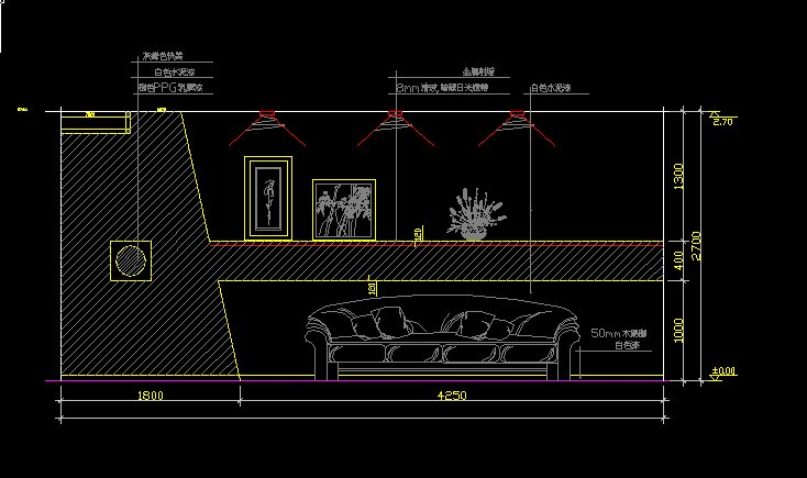 Living Room Design Template V2 Cad Drawings DownloadCAD