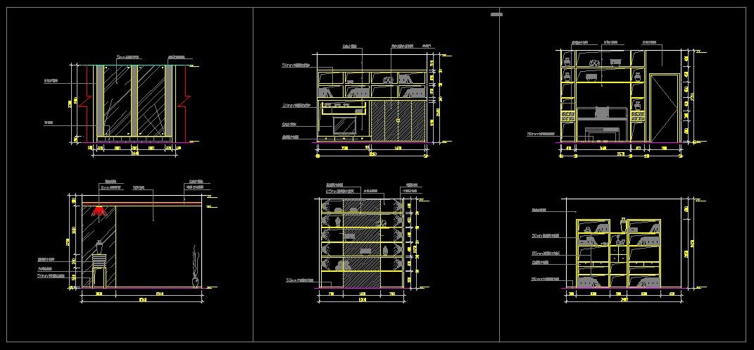 Study room design drawings v 2 cad drawings download cad for Room design cad