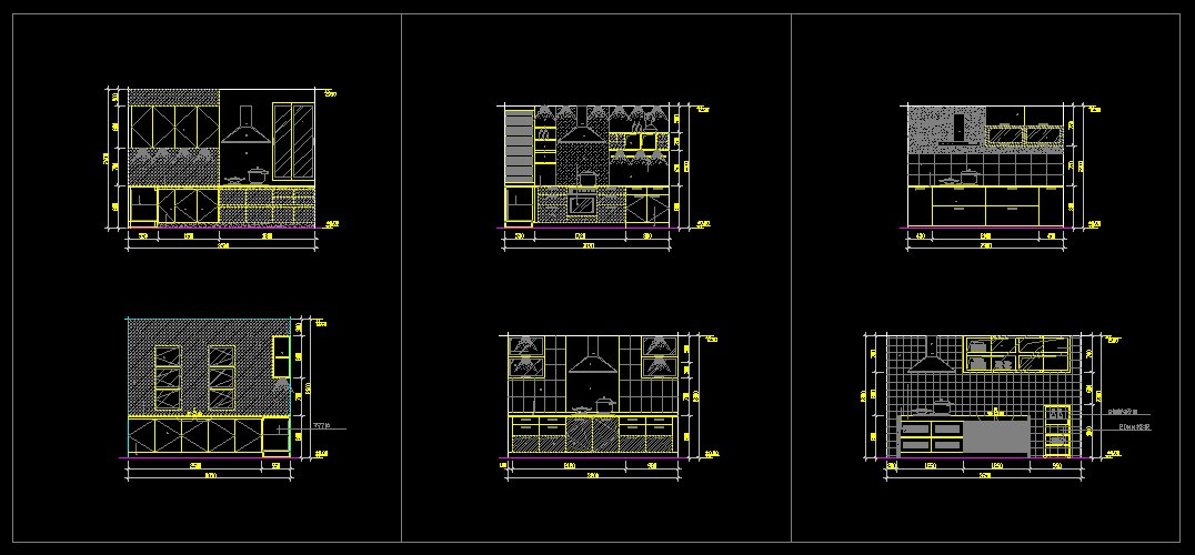 Kitchen Design > Kitchen Design TemplateCad Drawings DownloadCAD Blocks #  Kitchen Cabinet Elevation Autocad Block