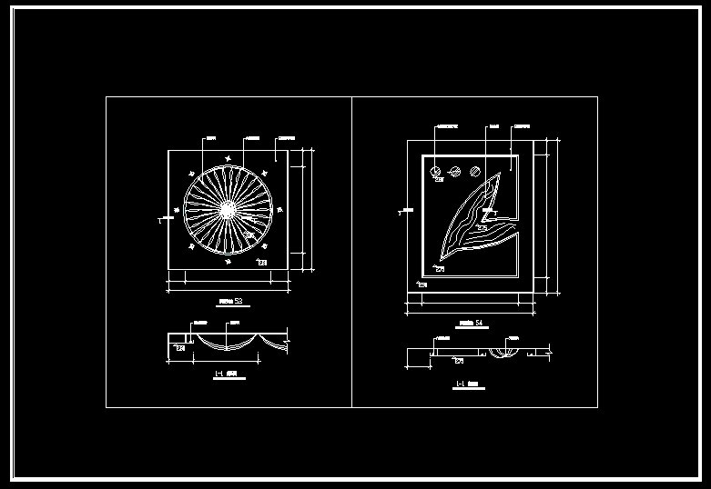 Ceiling Design Template】-Cad Drawings Download|CAD Blocks ...
