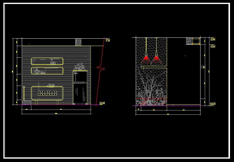 ... symbols / Drawing symbols. / scale / Architecture Interior Design