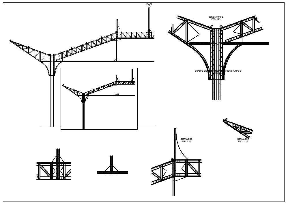 Steel Structure Details V5】★ Cad Files Dwg Files Plans