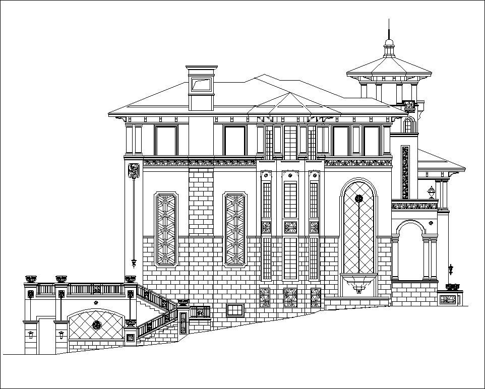 luxury villa plans 3 u3011 u2605