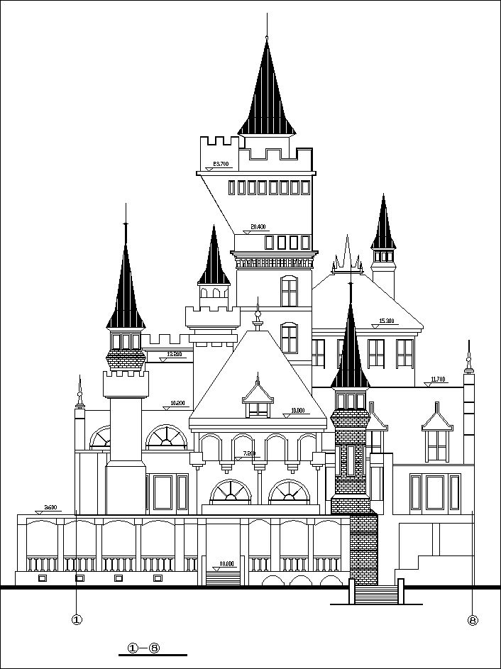 dream castle drawings 1 u3011 u2605