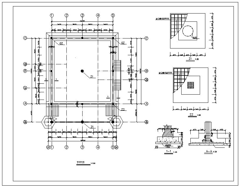 Elevation Plan Notes : Mosque drawings】★ cad files dwg plans and details