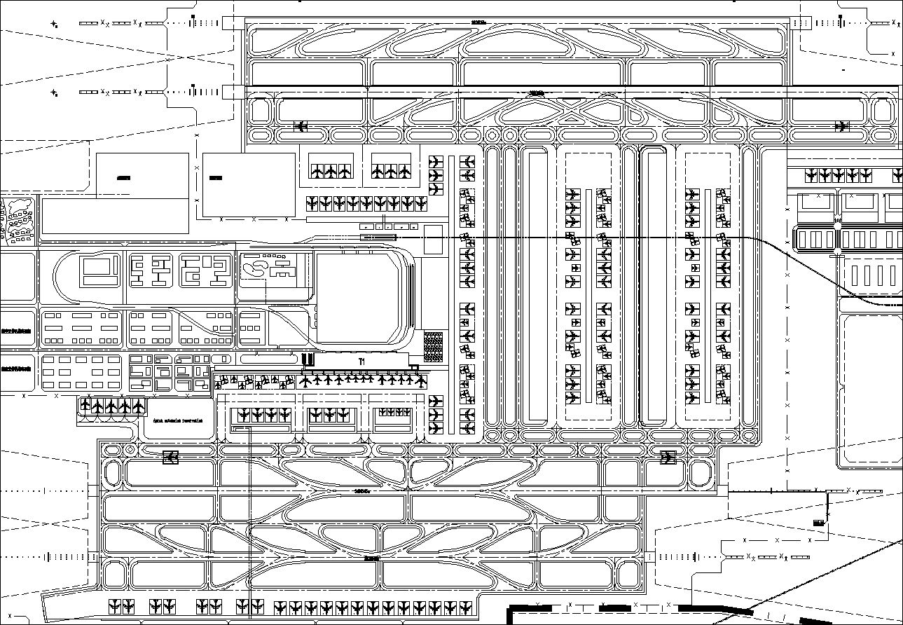 Airport Design Drawings Cad Files Dwg Files Plans And Details