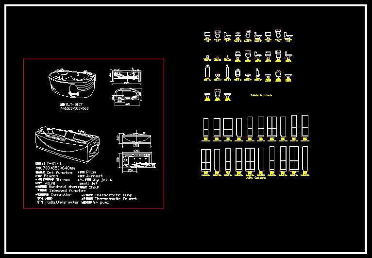 Bathroom Blocks】-Cad Drawings Download|CAD Blocks|Urban ...