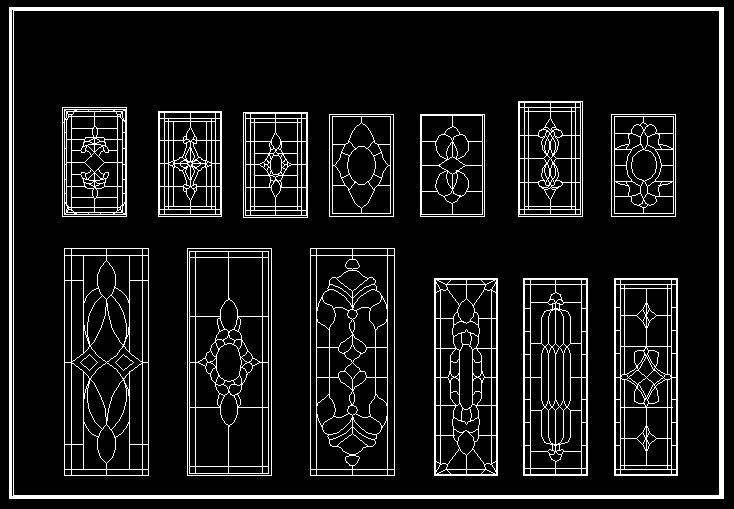 Autocad 2d Door & Sliding Door Autocad Block 2d Designs Sc 1
